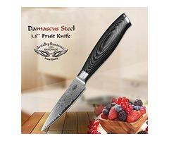 Japanese VG10 Damascus Steel Knife Set