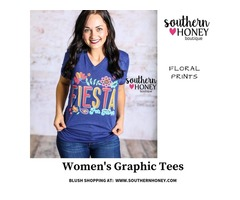 Shop Women's Graphic Tees From Southern Honey Boutique - Texas & New Mexico