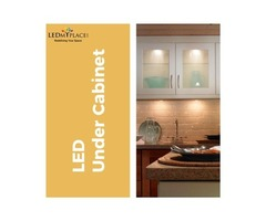 Buy the Best LED Under Cabinet Lights For Your Kitchen Areas