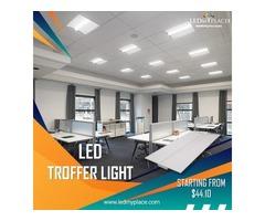 (LED Troffer Light) - Best Energy-Efficient Indoor Lighting