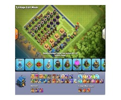 Clash of clans 12 Town hall MAX