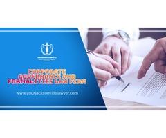 Daytona Beach Corporate Governance & Formalities Law firm