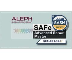 Safe Advanced Scrum master - (SASM) | Certification | AlephTechnologies |