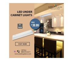 CCT Changeable LED Under Cabinet Lights For Kitchen Lighting   Free Shipping