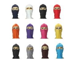 Motorcycle Cycling Ski Neck protecting Lycra Full Face Mask