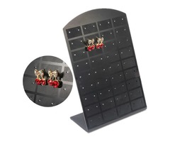 36 Pair Earrings Studs Showcase Display Holder Stand Tool