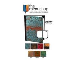 Best-Quality Four View Patina Menu Covers For Restaurant | The Menu Shop