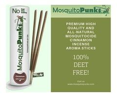 Mosquito Repellent with Cinnamon Aroma