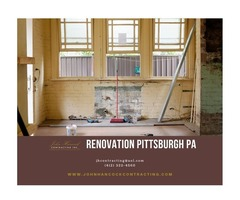 John Hancock Contracting, Inc. Renovation Pittsburgh PA