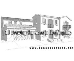 DIMENSIONS Offer Realistic 3D Drawing Services in Los Angeles