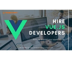 Want to Hire Vue.Js Developers for your Project? Contact Us