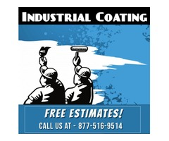 Certified Industrial Coating Contractors with Long term protection