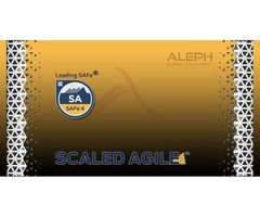 Leading  SAFe  (Scaled Agile)| 2-day Training | Aleph Technologies.com
