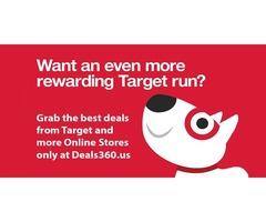 Target Discount Offers, Deals, Target Coupons, Promo Code-Deals360.us