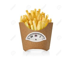 Get trendy Custom French fries box Wholesale