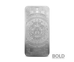 Silver – 10 oz Aztec Calendar Bar