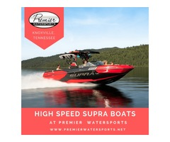Dynamic Supra Boats now available at Premier Watersports in Knoxville