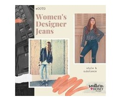 Adorn Versatile Style With  Women's Designer Jeans at Southern Boutiques