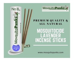 Buy Mosquitocide Incense Lavender Sticks from Mosquitopunks