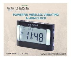 Buy Powerful Wireless Vibrating Alarm Clock