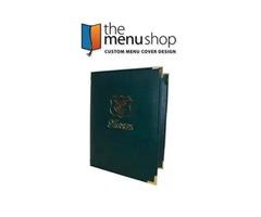 Best-Quality Seville Menu Covers for Restaurant | The Menu Shop