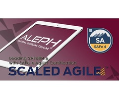 SAFeCertification  Training | 2Day Classroom  Course | Scaled Agile