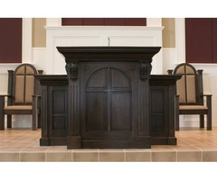 Manufacturer of courtroom furniture