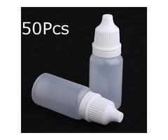 Eye Liquid Dropper 10ml Empty Plastic Squeezable Dropper Bottles