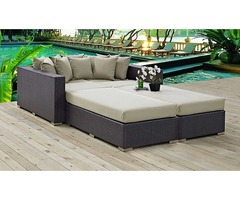 Convene 4 Piece Outdoor Patio Daybed  - Get.Furniture