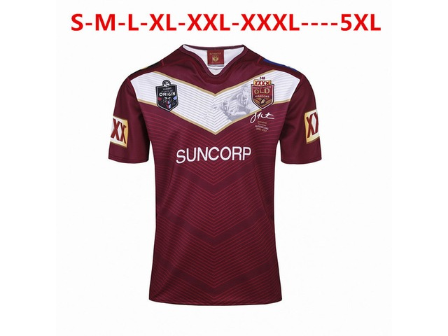 NRL National Rugby League Australia Queensland QLD Maroons Rugby jersey Johnathan THURSTON 6 je | free-classifieds-usa.com