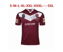 NRL National Rugby League Australia Queensland QLD Maroons Rugby jersey Johnathan THURSTON 6 je