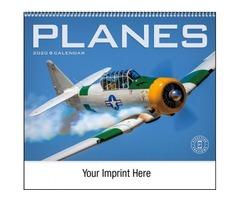Airplane Wall Calendar 2019
