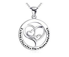Silver Charm Pendant Necklace