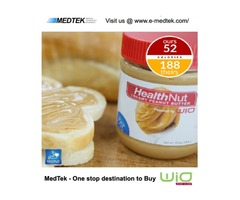 WiO Nut Peanut Butter   ONLY 1/4 of the Calories!!   e-MedTek