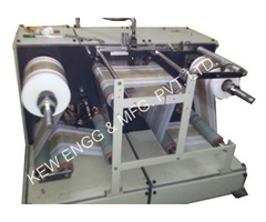Winding Rewinding Machine with Inkjet Printer, KEW ENGG. & MFG