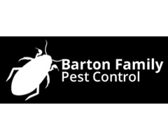 Justin Barton, the owner of Barton Family Pest Control