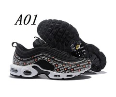 Off new 97 TN Plus Classic white Mens Designer Running chaussures Top Quality 97 Just do it sty