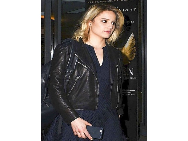 Dianna Elise Agron Real Cowhide Leather Jacket | free-classifieds-usa.com