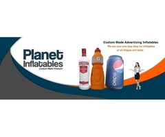 Custom Advertising Inflatables - Planet Inflatables