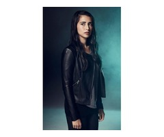Dilan Gwyn Beyond Black Real Cowhide Leather Jacket
