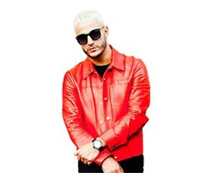 DJ Snake Red Real Cowhide Leather Jacket