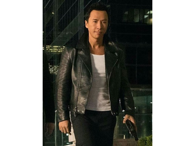 Donnie Yen xXx Return Of Xander Cage Black Real Cowhide Leather Jacket | free-classifieds-usa.com