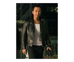Donnie Yen xXx Return Of Xander Cage Black Real Cowhide Leather Jacket