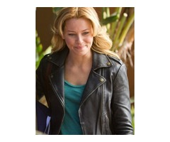 Elizabeth Banks People Like Us Real Cowhide Leather Jacket