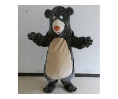 Baloo Bear Mascot Costume Fancy Party Dress Halloween Carnival Costumes Adult Size High Quality free