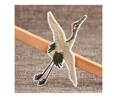 Red-crowned Crane Custom Patches