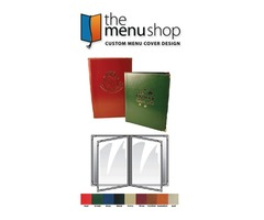Six View Sewn Pajco Menu Covers for Restaurant | The Menu Shop