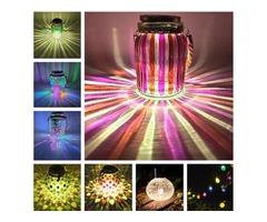 Solar jar lights