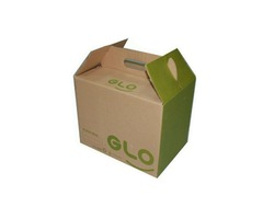 We provide High-Quality Custom Cardboard box with handle Wholesale