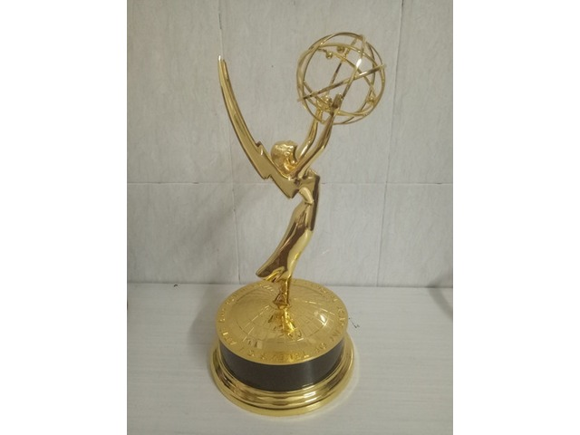 Emmy Awards Trophy 39cm/15.5 inch Statuette Metal Replica Gold Zinc Alloy | free-classifieds-usa.com